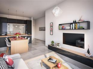 Arlon Centre, Au 1er étage de la Résidence Tour Molitor appartement 2 chambres neuf dune superficie de 71 m2 et compos&e