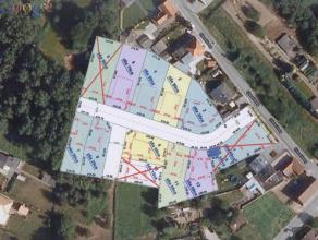 Mooi perceel bouwgrond voor open bebouwing. Lot 2 met een oppervlakte van ± 6a 25ca. Bebouwbare oppervlakte ± 235m². Verkavelingsve
