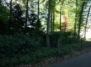 Perceel bouwgrond voor open bebouwing met een oppervlakte van ± 7a 20ca. Rustige ligging in een bosrijke omgeving. Perceelsbreedte: ± 21