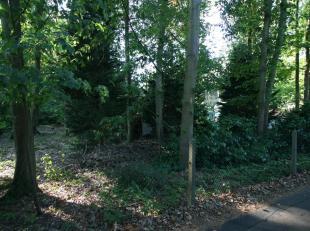 Perceel bouwgrond voor open bebouwing met een oppervlakte van ± 6a 70ca. Rustige ligging in een bosrijke omgeving. Perceelsbreedte: ± 19
