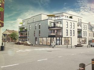 Prachtig gelegen nieuwbouwappartement in het centrum van Landen, op enkele passen van het station.<br /> Het appartement is 98m² heeft een mooie
