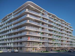 Schitterend project met sublieme architectuur!<br /> Subliem 1 slaapkamerappartement met ruime slaaphoek met uitzonderlijk ruime terrassen uitkijkend