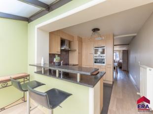 Modern en heel aangenaam ingerichte woning in een rustige en groene omgevingInstapklaar - CV op aardgas - dubbele beglazingZuid georiënteerde tui