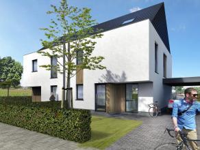 Lot 52 is een halfopen bebouwing in hedendaagse stijl op een grondopp. van 369 m². Er zijn verschillende gesloten en halfopen bebouwingen in hede