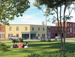 Lot 28 is een gesloten bebouwing op een grondoppervlakte van 207 m². Eigentijdse stijl met karaktervolle architecturale accenten.<br /> <br /> GE