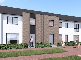 Lot 27 is een halfopen bebouwing , nog op te starten,  in eigentijdse, moderne stijl op een grondopp. van 149 m² en met een totale bewoonbare opp