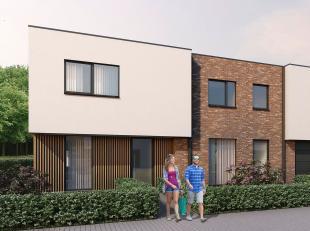 Woning 9 is een halfopen bebouwing in een moderne, strakke stijl op een grondopp. van 267 m² en met een totale bewoonbare oppervlakte van140 m&su