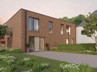 Lot 5 is een halfopen bebouwing in opbouw in moderne stijl op een grondopp. van 455 m² en met een totale bewoonbare oppervlakte van 147 m².<