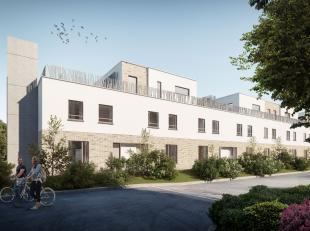 Woning B1 is een gesloten bebouwing in opbouw in moderne stijl met een totale bewoonbare oppervlakte van 128 m² en een tuin met terras van 140 m&