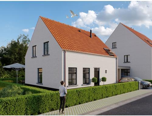 Maison à vendre à Moerkerke, € 382.000