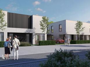 ENERGIEZUINIGE designwoning op een perceel van 255 m²! Inkomhal met vestiaireruimte en aparte hangtoilet, gezellige leefruimte met een open eilan