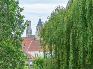BRUGGE- ROYAAL APPARTEMENT (177 m² bewoonbare interieuropp.) met 4 slaapkamers, 3 badkamers, GROOT ZONNETERRAS. Grandioos zicht op t Stil Ende. A
