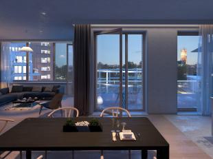 Dit appartement ligt in het Gent van de toekomst, een nieuw stadsdeel. De oplevering van dit prachtige appartement wordt voorzien voorjaar 2019. Deze