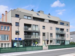 Prachtige penthouse met groot terras op de bovenste verdieping met een oppervlakte van 82 m², gelegen in de Residentie Permeke op de Brugsesteenw