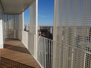 Nieuwbouw 2 slaapkamerappartement te huur vlakbij de Europese instellingen. Het appartement is afgewerkt met kwaliteitsvolle materialen. Dit unieke ap