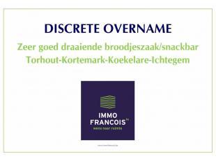 Dezebloeiende winstgevende zaakis over te nemen en heeft eenuitstekende ligging en naambekendheid in de regio Torhout - Kortemark - Koekelare - Ichteg