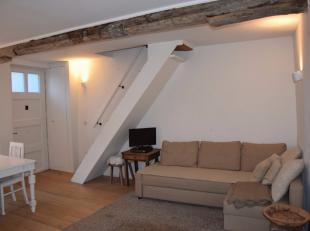 Deze knusse, gemeubelde woning bevindt zich op absolute toplocatie in het centrum van Brugge, vlakbij het Minnewaterpark, het station en op een boogsc