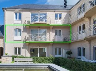DIt zonnige appartement is gelegen in de standingvolle residentie Gravenhof. In dit project zijn licht en ruimte troef. Het betreft een twee slaapkame