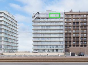 Deze studio situeert zich op de negende verdieping van de zeer verzorgde residentie 'Zeegalm', op de zeedijk van Middelkerke. Vanuit de lichtrijke stu