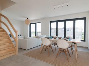 Dit prachtig nieuwbouw duplex appartement bevindt zich in de kwalitatieve residentie 'Zias I' te Westende. De woonst situeert zich op wandelafstand va