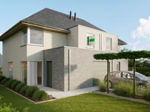 Deze nog te bouwen nieuwbouw woning is gelegen in het landelijke Velzeke. De woning is ingedeeld met op het gelijkvloers een inkomhal, woonkamer met e