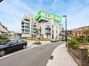 Op het bovenste verdiep in residentie Artevelde Plaza, parallel aan de winkelstraat (Zeelaan) in De Panne, vinden wij dit verborgen pareltje terug.Met