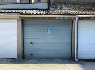 Een felbeheerde parkeerplaats in de drukke badstad gezocht? Wij bieden u de toegang aan tot een afgesloten garagebox in het centrum van Blankenberge v