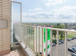 """Op de zevende verdieping van de residentie """"Sunflower"""", is deze studio gelegen. Het eigendom bevindt zich in het centrum van Middelkerke, op wandelafs"""