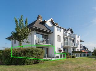 Op de gelijkvloerse verdieping van de residentie Fréjus is dit ruim woonappartement gelegen. U bevindt zich in een rustige en groene wijk, de W