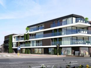 Nieuwbouw handelsruimte van 48 m² op TOPLOCATIE in het centrum van Wijnegem.  Het pand beschikt over een moderne keramische betontegel.  Kleine k