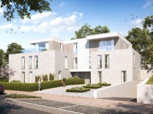 """Residentie """"EGELANTIER"""" gelegen aan de voet van de residentiële wijk """"de Westhoekverkaveling"""" in hartje De Panne bestaat uit10 zongerichte luxueu"""