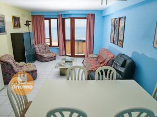 Appartement meublé au sixième étage dans la résidence Château Soutard, situé centralement sur la digue entre