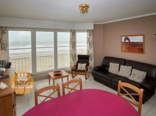 Appartement meublé au sixième étage dans la résidence Deauville, situé centralement sur la digue entre le Zeelaan e