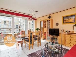 COSY appartement op het eerste verdiep met een slaapkamer en slaaphoek, Zonneterras waar je heel de dag van de zon kunt genieten en op enkele stappen