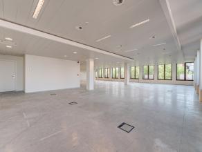 Dit kantoor op de eerste verdieping heeft een oppervlakte van 166m² en is volledig kwalitatief afgewerkt met verhoogde vloeren t.b.v. bekabeling,