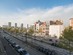 Wonen in een subliem appartement in de meest hippe en opgewaardeerde buurt van Antwerpen: 't Eilandje? Dit appartement heeft het allemaal: recent gere