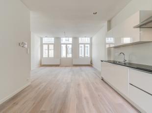 Dit sublieme éénslaapkamerappartement  (ca. 64 m²) met zeer veel lichtinval is gelegen op de eerste verdieping van een kwalitatief
