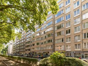 Instapklaar klassiek appartement(+-150m²) op toplocatie aan het Albertpark met 3 slaapkamers en mooi terras (W-gericht) in een verzorgd gebouw te