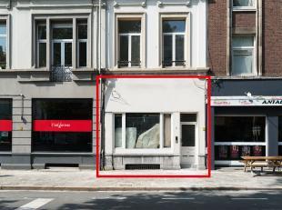 Gelijkvloerse handels/kantoorruimte van 50m2 te huur in de Kasteelpleinstraat op het Zuid in Antwerpen. – Ideaal voor vrije beroepen of als kantoorrui