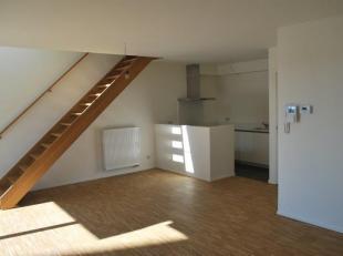 Dit recent instapklaar nieuwbouw-duplexappartement (bew. opp. ca 100m²) met 2 volwaardige slaapkamers (18m² en 11m²)  en Zuid geori&eum