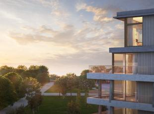 Oplevering 1 september 2019 ! High-end zuid gericht appartement van 102 m² en twee terrassen van samen 19 m² met frontaal zicht op het Justi