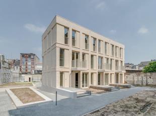 Duplexappartement op 1ste en 2de verdieping met een bewoonbare oppervlakte van 65 m² en een terras van 3 m². Dit charmant appartement is gel