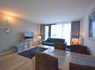 Centre-Ville - Quartier Adolphe Max - Splendide appartement 1 chambre meublé de +/- 65m² avec balcon - Situé au 2ème &eacute