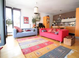 Bruxelles, à proximité de Sainte-Catherine, dans un immeuble moderne de 2005 - Superbe appartement de +-120m² composé comme