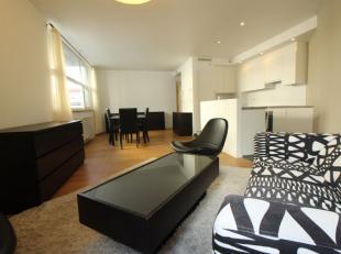 Prox. Cirque Royal - Dans un immeuble de standing de 2008 - Superbe appartement meublé de +/-90m² - Il se compose d'un hall d'entré