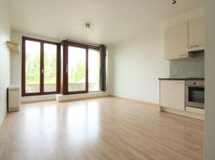 Quartier Konkel, magnifique studio de +/-28m² situé au 4ème étage d'un immeuble de 5 étages avec ascenseur. Compos&ea