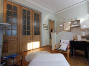 Quartier Européen / Square Ambiorix - Magnifique appartement meublé de +/- 65m² - il se compose d'un lumineux living avec cuisine &