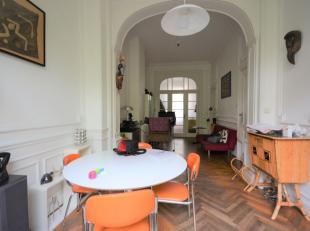 Quartier Européen - Bel appartement duplex avec 3 chambres au rez de chaussée avec jardin de +/- 110m² - Composé comme suit: