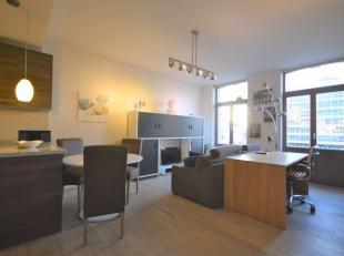 Centre-Ville - Superbe appartement meublé de +/- 80m² - Situé au 2ème étage d'un immeuble de 4 étages - Compos