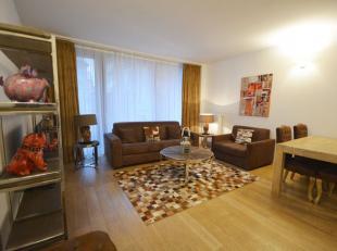 Centre-Ville - Splendide appartement 1 chambre meublé de +/- 65m² avec terrasse - Situé au 1er étage dans un immeuble de 6 &